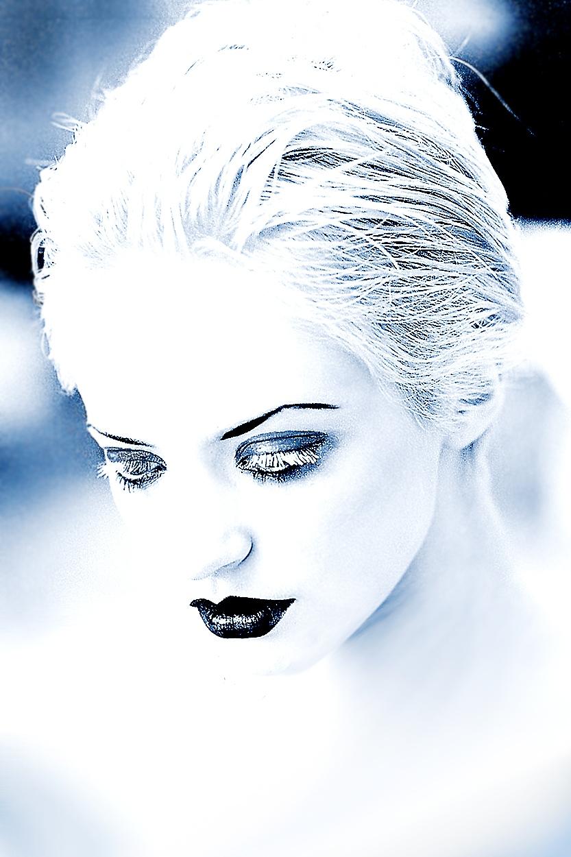 portret artystyczny modelki