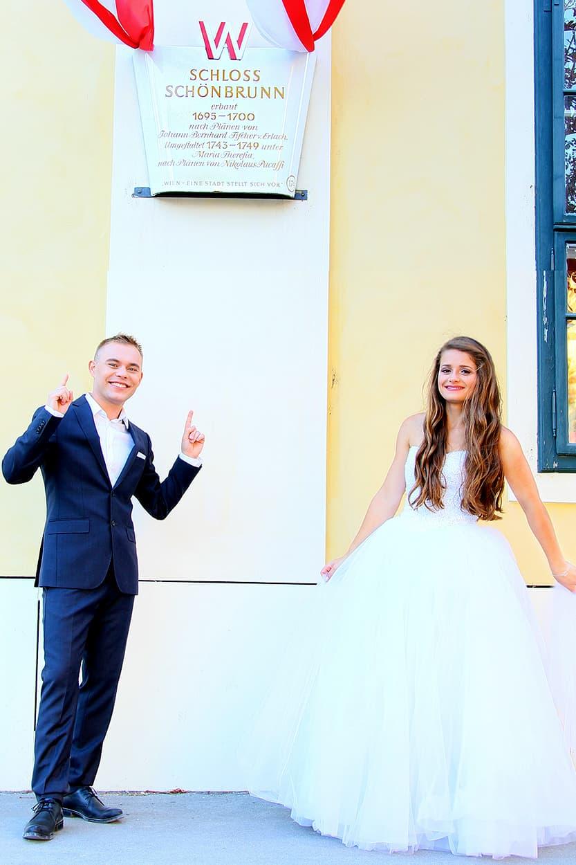 sesja ślubna w Wiedniu