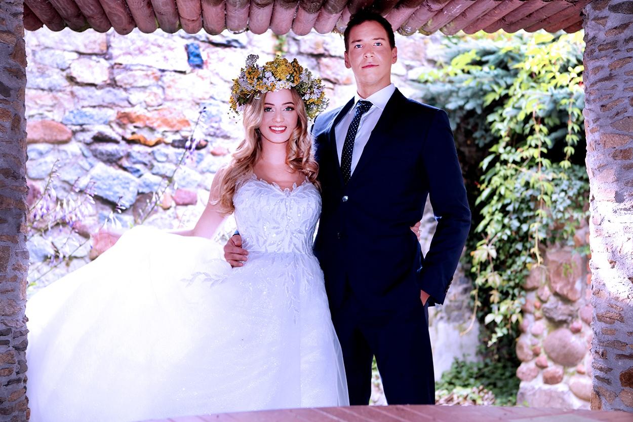 sesja poślubna boho